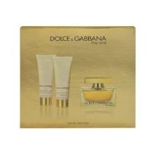 Dolce & Gabbana The One Edp 75ml + 50ml body lotion + 50ml shower gel naisille 10860