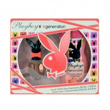 Playboy Generation For Her Edt 30ml + 250ml shower cream naisille 74549