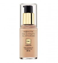 Max Factor Face Finity 3in1 Foundation SPF20 Cosmetic 30ml 33 Crystal Beige naisille 71275