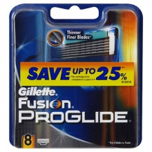 Gillette Fusion Proglide Replacement blade 4pc miehille 63844