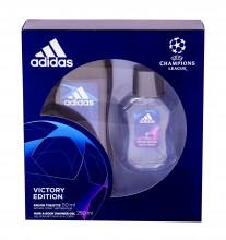 Adidas UEFA Champions League Edt 50 ml + Shower Gel 250 ml miehille 20434