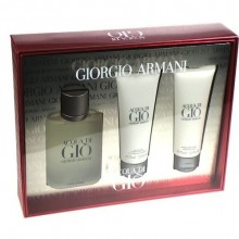 Giorgio Armani Acqua di Gio Edt 100ml + 75ml After shave balm + 75ml Shower gel miehille 59942