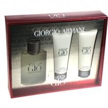 Giorgio Armani Acqua di Gio Pour Homme Edt 100ml + 75ml After shave balm + 75ml Shower gel miehille 59942