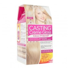 L´Oreal Paris Casting Creme Gloss Glossy Princess Cosmetic 1ks 1010 Light Iced Blonde naisille 31359