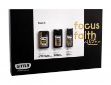STR8 Hero Aftershave Water 50 ml + Shower Gel 250 ml + Deodorant 150 ml miehille 03212