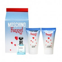 Moschino Funny Edt 4ml + 25ml Body gel + 25ml Shower gel naisille 97541
