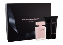 Narciso Rodriguez For Her Edp 50 ml + Body Lotion 75 ml + SHower Gel 75 ml naisille 22757