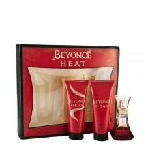 Beyonce Heat Edp 30ml + 75ml Shower gel + 75ml Body lotion naisille 96922