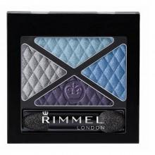 Rimmel London Glam Eyes Quad Eye Shadow 4,2g 002 Smoke Brun naisille 54153