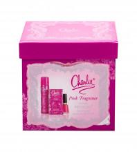 Revlon Charlie Pink Edt 30 ml + Body Spray 75 ml + Nail Enamel 14,7 ml Sweet Tart naisille 36888