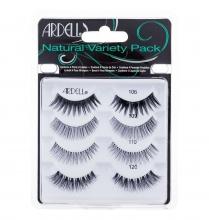 Ardell Natural Lashes Natural 1 pair + Lashes Natural 109 1 pair + Lashes Natural 110 1 pair + Lashes Natural 120 1 pair Black naisille 01650