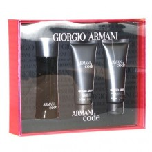 Giorgio Armani Armani Code Pour Homme Edt 75ml + 75ml After shave balm + 75ml Shower gel miehille 80195