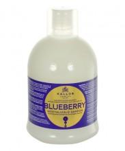 Kallos Blueberry Hair Shampoo Cosmetic 1000ml naisille 11562