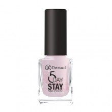 Dermacol 5 Day Stay Longlasting Nail Polish Cosmetic 11ml 02 Sugar Sweet naisille 59224