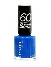 Rimmel London 60 Seconds Nail Polish 8ml 703 White Hot Love naisille 17169