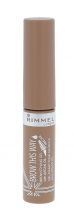 Rimmel London Brow This Way Eyebrow Mascara 5ml 001 Blonde naisille 45625