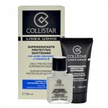 Collistar Men 50ml Men Daily Protective Supermoisturizer + 15ml Sensitive Skin After-Shave miehille 80082