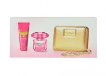 Versace Bright Crystal Absolu Edp 90ml + 100ml body lotion + wallet naisille 24267