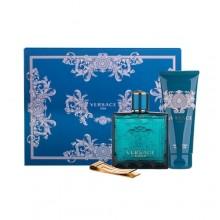 Versace Eros Edt 100ml + Shower gel 100 ml + Buckle on banknotes miehille 31432