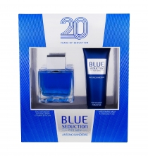 Antonio Banderas Blue Seduction For Men Edt 100 ml + After Shave Balm 75 ml miehille 19002