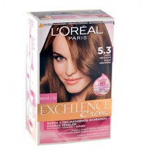 L´Oréal Paris Excellence Creme Hair Color 192ml 5,3 Natural Golden Brown naisille 16650