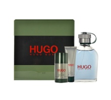 HUGO BOSS Hugo Man Edt 125ml + 50ml shower gel + 75ml deostick miehille 56094