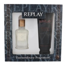 Replay Jeans Original! For Him EDT 30 ml + shower gel 100 ml miehille 20219