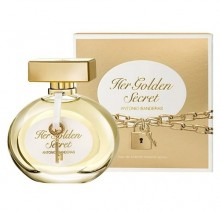Antonio Banderas Her Golden Secret Eau de Toilette 80ml naisille 70795