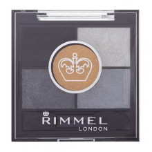 Rimmel London Glam Eyes HD 5-Colour Eye Shadow Cosmetic 3,8g 022 Brixton Brown naisille 65640