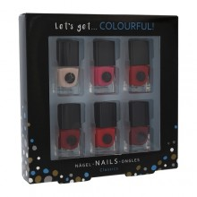 2K Let´s Get Colourful! Classics Nail Polish Nail Polish 6 x 5 ml naisille 41697