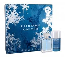 Azzaro Chrome United Edt 50 ml + Deostick 75 ml miehille 58320