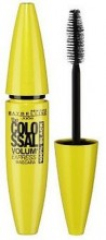 Maybelline Mascara Colossal Volum 100% Black Cosmetic 10,7ml 100% Black Black naisille 79847