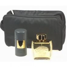 Lalique Pour Homme Lion Edt 75ml + 75ml Deostick + Cosmetic bag miehille 13575