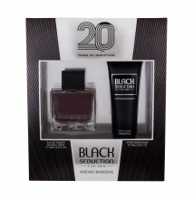 Antonio Banderas Seduction in Black Edt 100 ml + After Shave Balm 75 ml miehille 19408