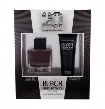 Antonio Banderas Seduction in Black Edt 100 ml + After Shave Balm 75 ml miehille 19408