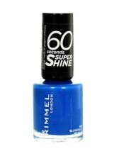 Rimmel London 60 Seconds Super Shine Nail Polish Cosmetic 8ml 415 Instyle Coral naisille 17015