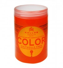 Kallos Cosmetics Color Hair Mask 1000ml naisille 08135