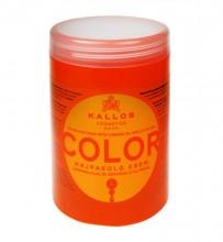 Kallos Cosmetics Color Hair Mask 1000ml naisille 08135