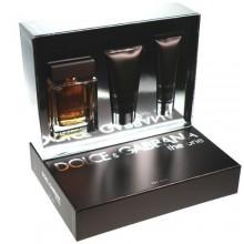 Dolce & Gabbana The One Edt 100ml + 75ml After shave balm + 50ml Shower gel miehille 11430