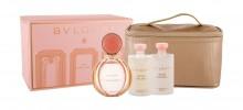 Bvlgari Rose Goldea Edp 90 ml + Body Lotion 75 ml + Shower Gel 75 ml + Cosmetic Bag naisille 65121