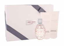 Jimmy Choo Jimmy Choo L´Eau Edt 90 ml + Body Lotion 100 ml + Shower Gel 100 ml naisille 84468