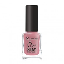 Dermacol 5 Day Stay Longlasting Nail Polish Cosmetic 11ml 09 Candy Shop naisille 59293