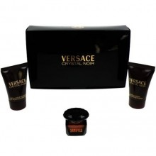 Versace Crystal Noir Edt 5ml + 25ml Body lotion + 25ml Shower gel naisille 95349