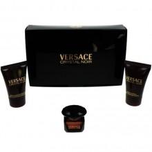 Versace Crystal Noir Edt 5ml + 25ml Body lotion + 25ml Shower gel naisille 95349