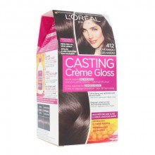 L´Oréal Paris Casting Creme Gloss Hair Color 1pc 412 Iced Cocoa naisille 88305