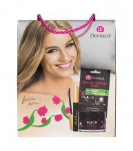Dermacol Black Magic Mattifying Face Moisturizer 50 ml + Deep Detoxifying Mask 1 pc + Mascara Black Swan 10 ml naisille 16350