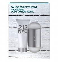 Carolina Herrera 212 NYC Edt 100ml + 100ml Body lotion naisille 61779