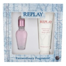 Replay Jeans Spirit! For Her EDT 20 ml + body lotion 100 ml naisille 20127