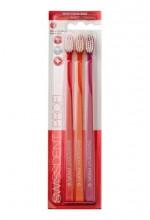 Swissdent Whitening Toothbrush 3pc Red, Orange, Pink unisex 95087