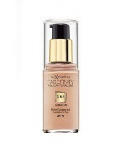 Max Factor Face Finity 3in1 Foundation SPF20 Cosmetic 30ml 30 Porcelain naisille 71237